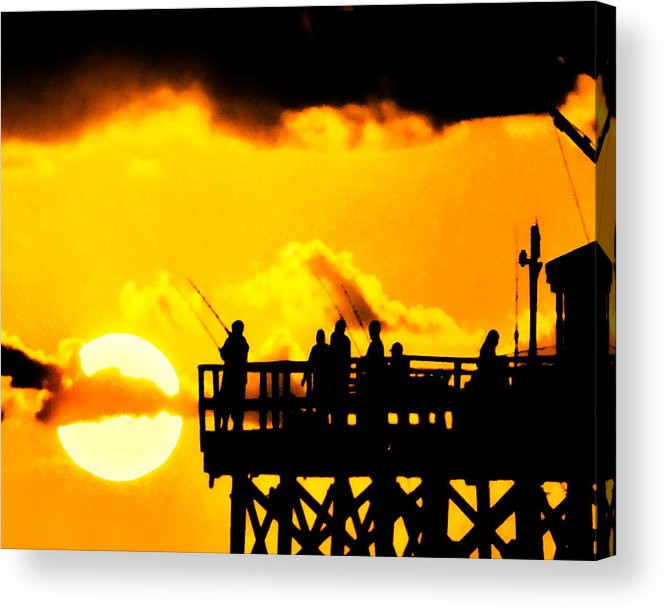 Sunset Acrylic Print featuring the photograph Catch A Sunset by Stephen Warren