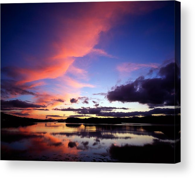 Dinish Island Acrylic Print featuring the photograph Dinish Island, Near Kenmare, Ring Of by The Irish Image Collection