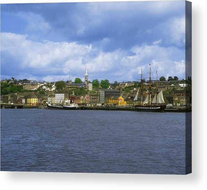Co Wexford Acrylic Print featuring the photograph Dunbrody Emigrant Ship, New Ross, Co by The Irish Image Collection