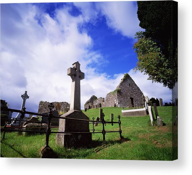 Architectural Exteriors Acrylic Print featuring the photograph Loughinisland, Co. Down, Ireland by The Irish Image Collection