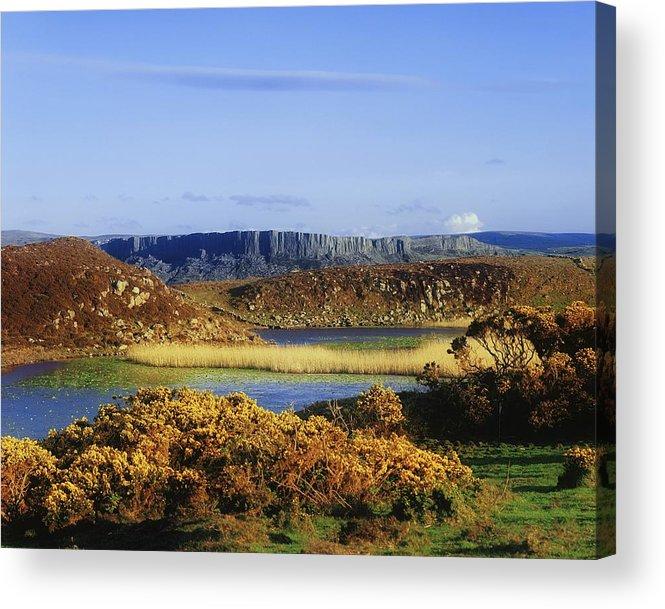 Autumn Acrylic Print featuring the photograph Rathlin Island, Co Antrim, Ireland by The Irish Image Collection