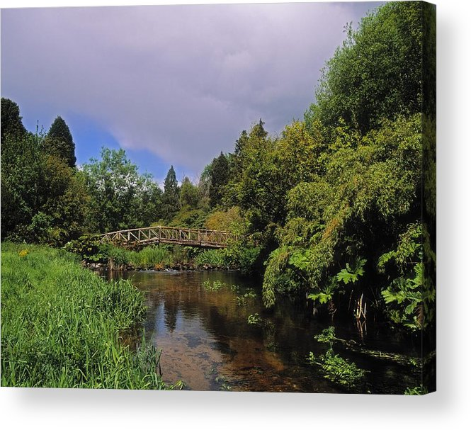 Outdoors Acrylic Print featuring the photograph River Awbeg, Annesgrove by The Irish Image Collection