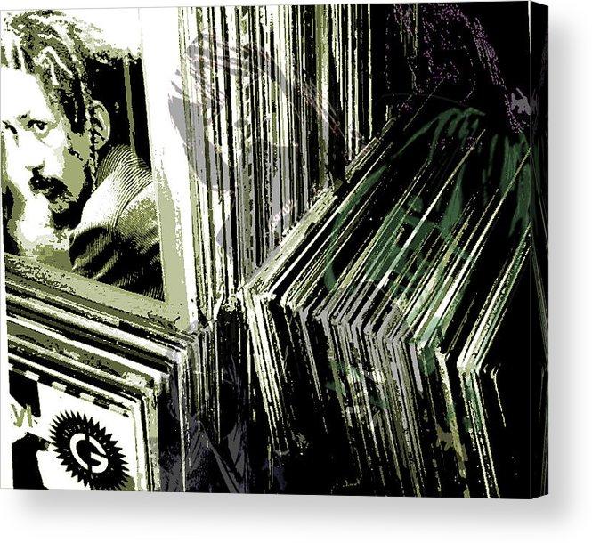 Acrylic Print featuring the digital art Shadows by Joey Sack