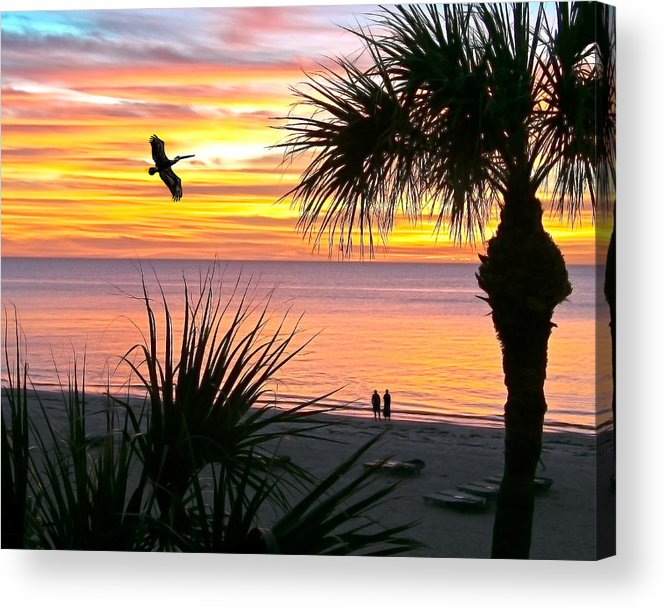 Sunset Acrylic Print featuring the photograph Sunset Majesty by Stephen Warren