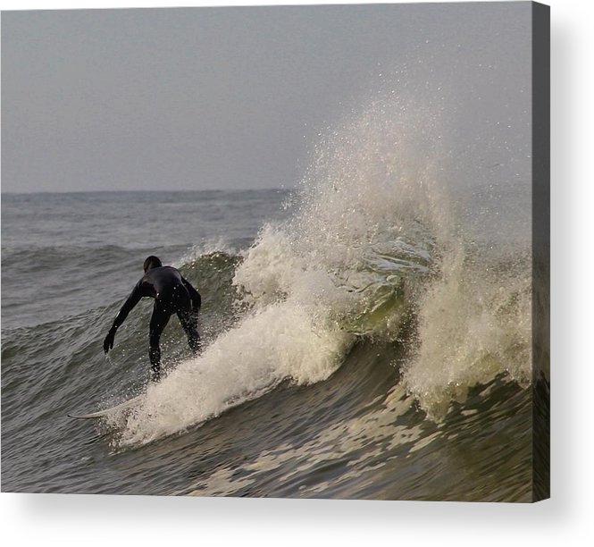Surf Acrylic Print featuring the photograph Surf by Dan Madden