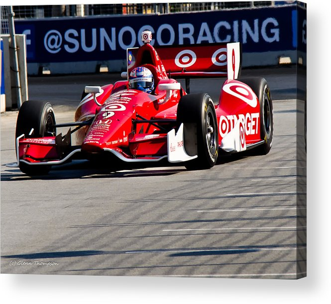 Izodindy Acrylic Print featuring the photograph Target by Glenn Thompson