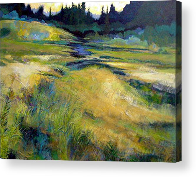 Landscape Acrylic Print featuring the painting Water Source by Dale Witherow