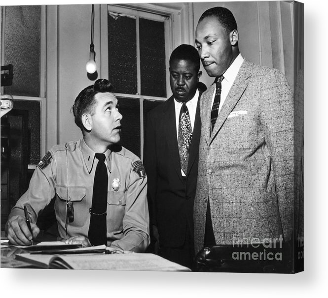 1956 Acrylic Print featuring the photograph Martin Luther King, Jr by Granger