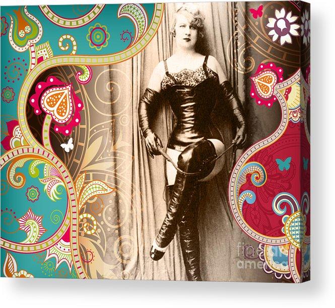 Nostalgic Seduction Acrylic Print featuring the photograph Goddess by Chris Andruskiewicz