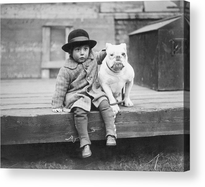 2-3 Years Acrylic Print featuring the photograph Best Friends by Kirby