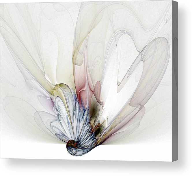 Digital Art Acrylic Print featuring the digital art Blow Away by Amanda Moore