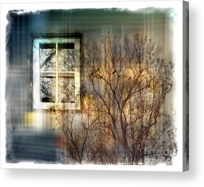 Tree Acrylic Print featuring the digital art Broken Dreams by Chuck Brittenham