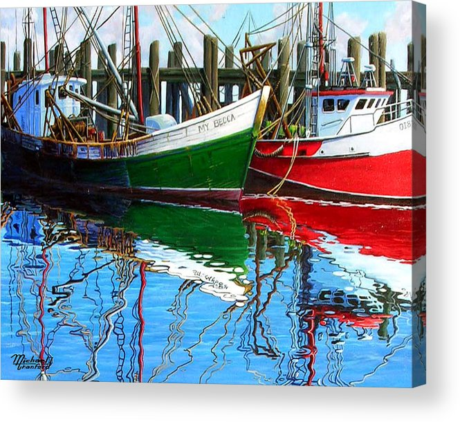 Cape Cod Acrylic Print featuring the painting Cape Cod Paintings by Michael Cranford