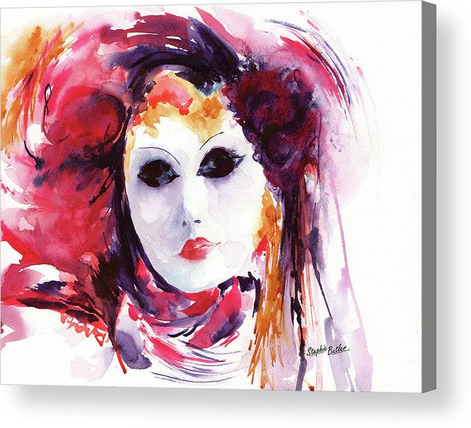 Stephie Acrylic Print featuring the painting Carnival by Stephie Butler