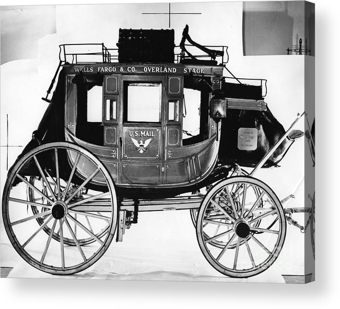 Concord Stagecoach Acrylic Print featuring the photograph Concord Stagecoach by Photo Researchers, Inc.
