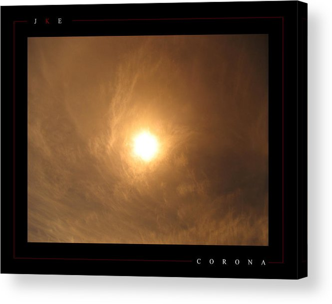 Sun Acrylic Print featuring the photograph Corona by Jonathan Ellis Keys