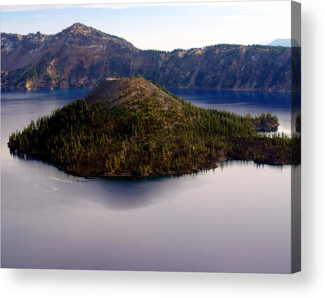 Crater Lake Acrylic Print featuring the photograph Crater Lake 1 by Marty Koch