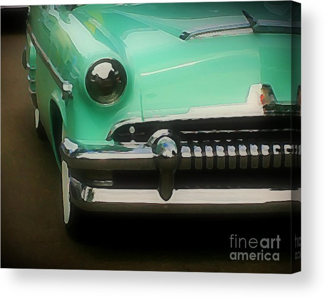 Car Acrylic Print featuring the photograph Fifties Ride by Perry Webster