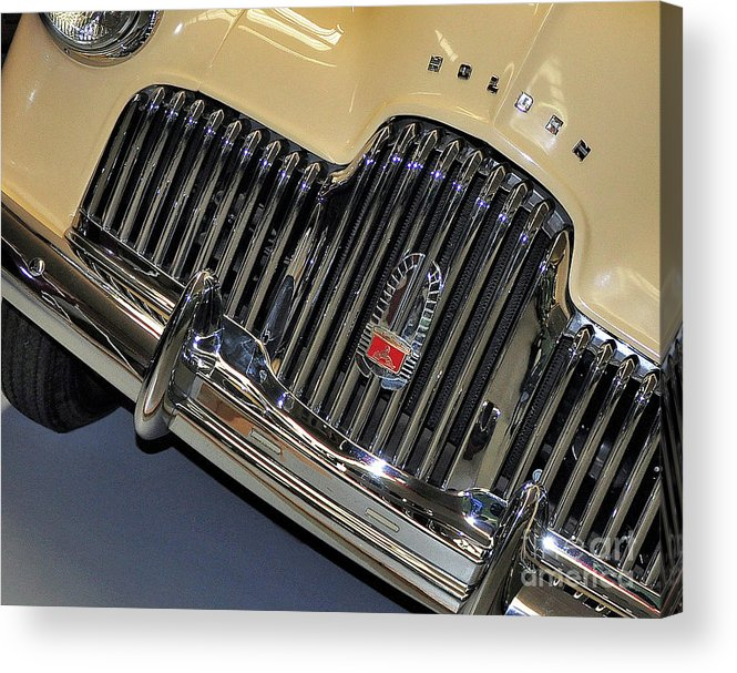 Photography Acrylic Print featuring the photograph Fj Holden - Front End - Grill by Kaye Menner