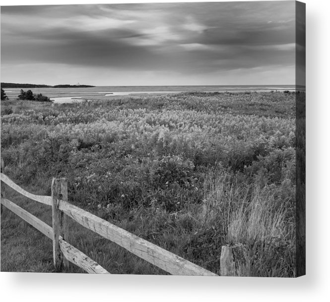 Black And White Acrylic Print featuring the photograph Fort Hill Bw by Bill Wakeley