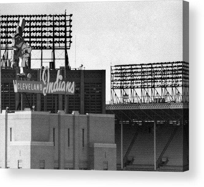 Cleveland Acrylic Print featuring the photograph Good Times Bad Times by Kenneth Krolikowski