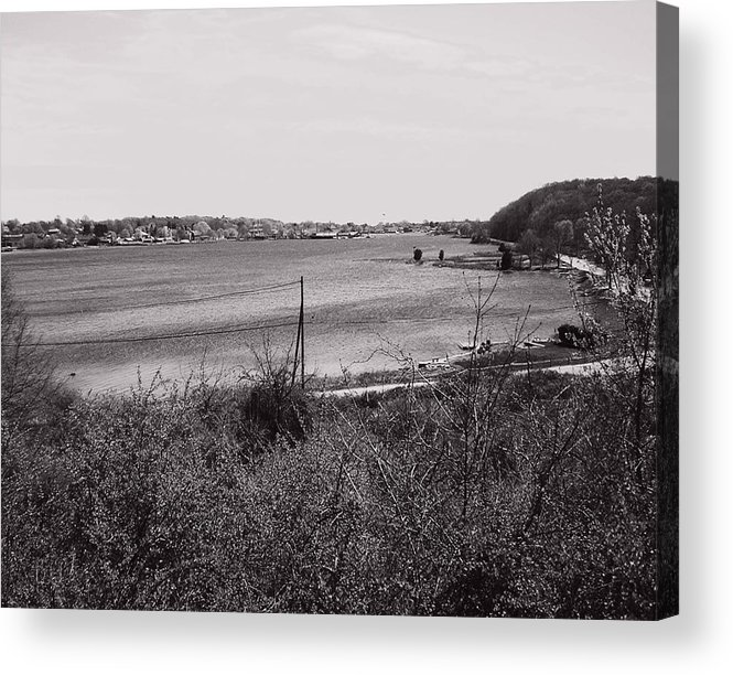 Mystic Acrylic Print featuring the photograph Mystic Overlook by Heather Weikel