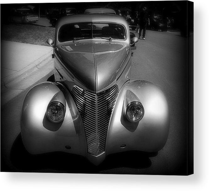 Old Acrylic Print featuring the photograph Old Calssic Car by Perry Webster