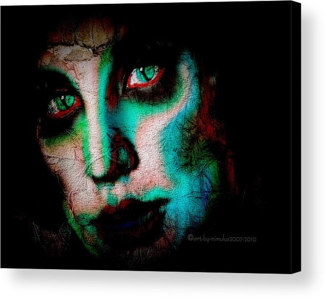 Old Acrylic Print featuring the digital art Older Than Time by Mimulux patricia No