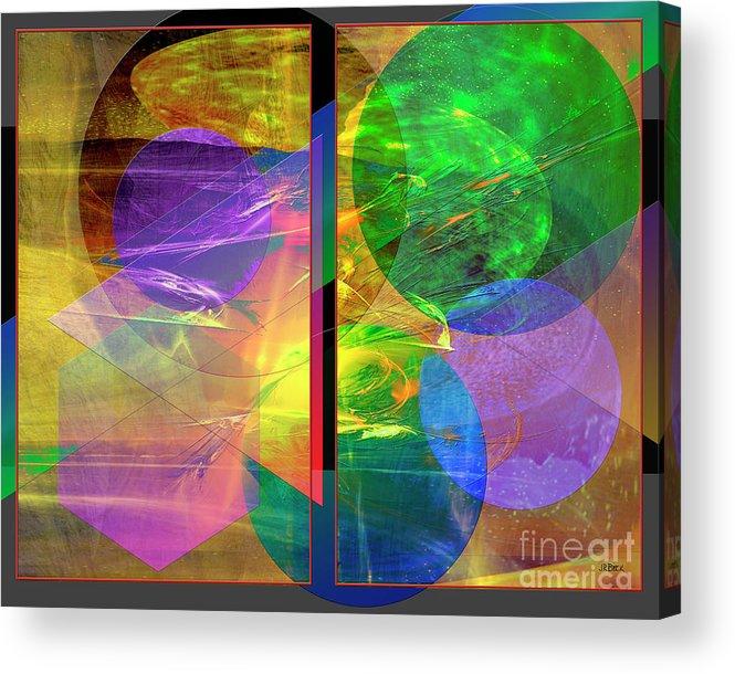Progressive Intervention Acrylic Print featuring the digital art Progressive Intervention by John Beck