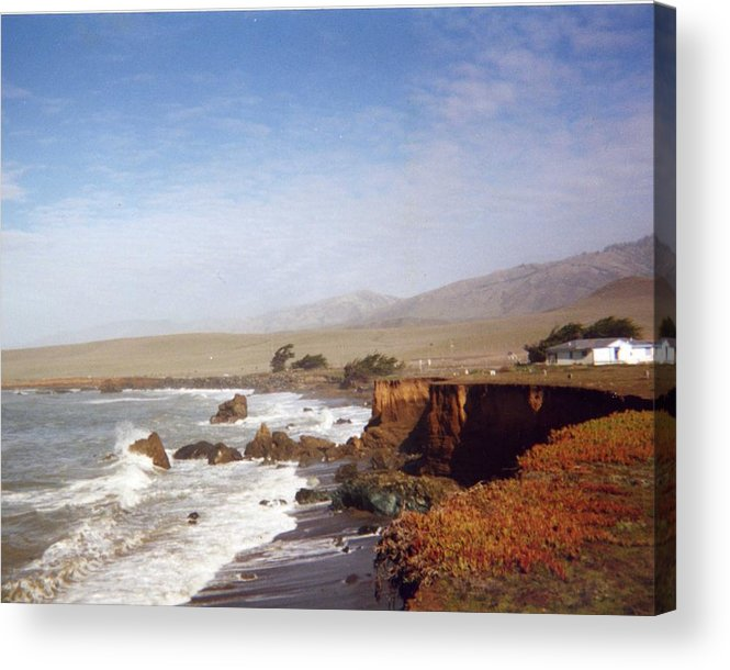 Coast Acrylic Print featuring the photograph Road To Monterey by Jennifer Ott