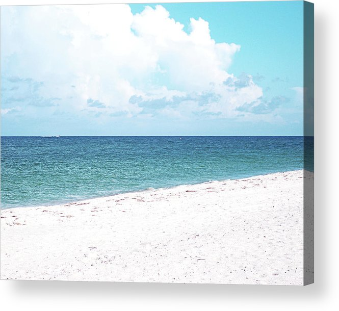 Florida Acrylic Print featuring the photograph Serenity Gp by Chris Andruskiewicz