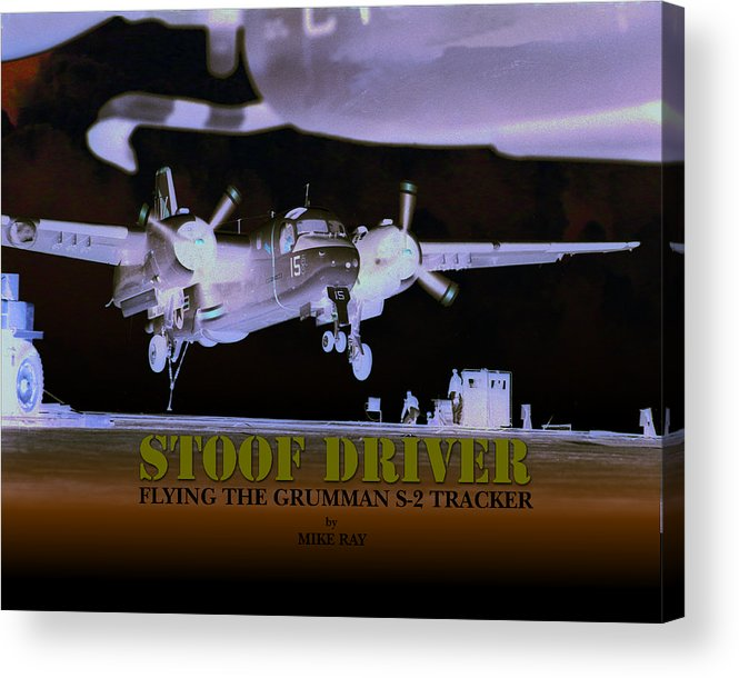 Aviation Acrylic Print featuring the digital art Stoofdriver Cover by Mike Ray