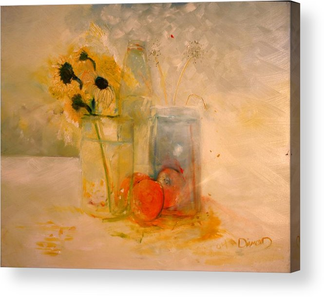 Daisey Acrylic Print featuring the painting Summer Light by Jack Diamond