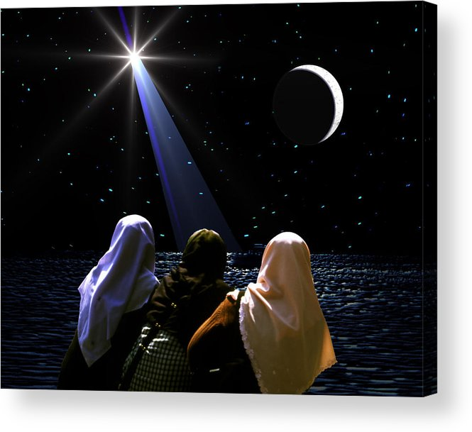 Chistmas Acrylic Print featuring the photograph The Annunciation by Roger Soule