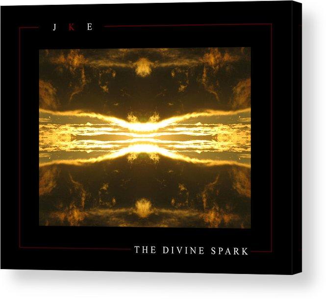 Sun Acrylic Print featuring the photograph The Divine Spark by Jonathan Ellis Keys