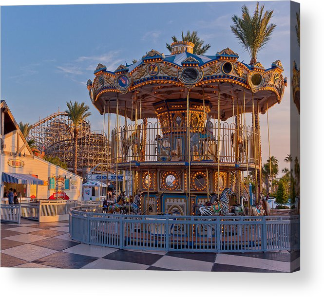 Kemah Acrylic Print featuring the photograph Tickets For Kemah Boardwalk by Harris Graeber
