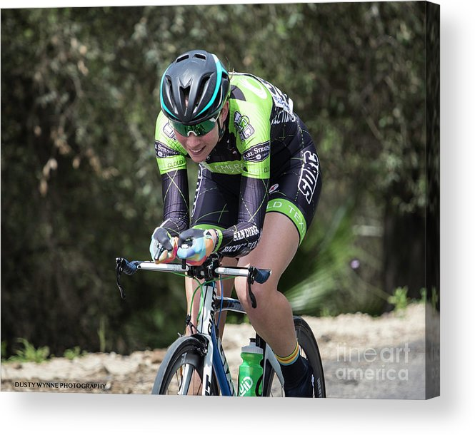 Tour Of Murrieta Acrylic Print featuring the photograph Time Trial 28 by Dusty Wynne