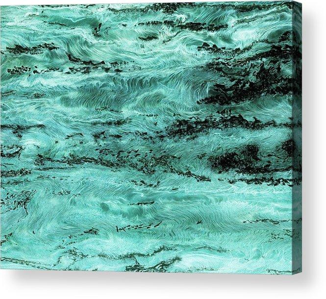 Paul Tokarski Acrylic Print featuring the photograph Turquoise Water by Paul Tokarski