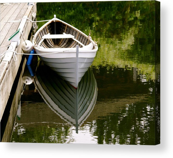 Wooden Boat Acrylic Print featuring the photograph Wooden Boat by Sonja Anderson