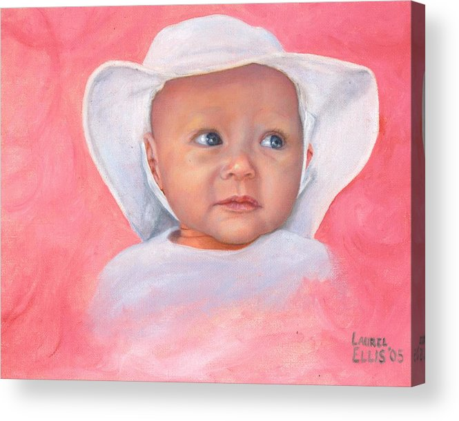 Acrylic Print featuring the painting Livi by Laurel Ellis