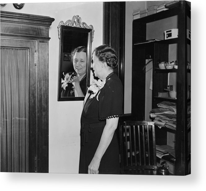 1939 Acrylic Print featuring the photograph Hattie Caraway (1878-1950) by Granger