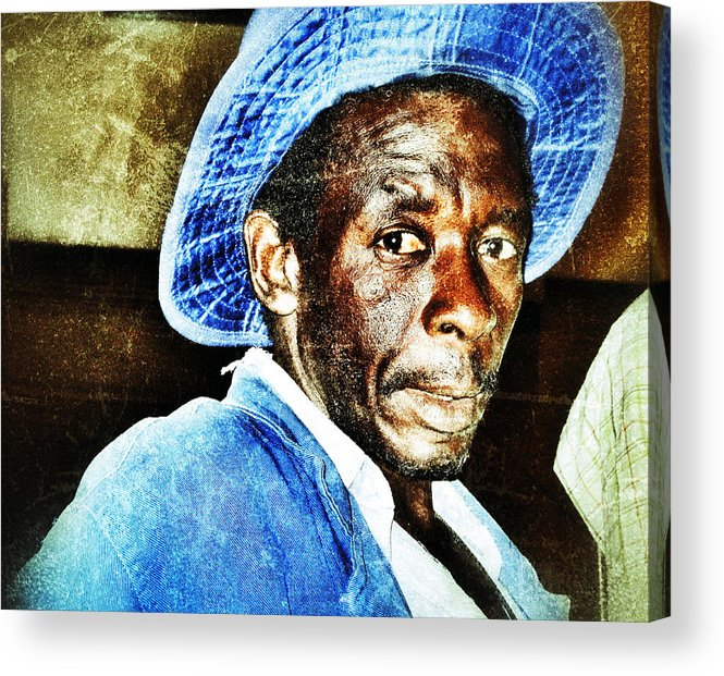 African Acrylic Print featuring the photograph Mr. Jinja by Al Harden
