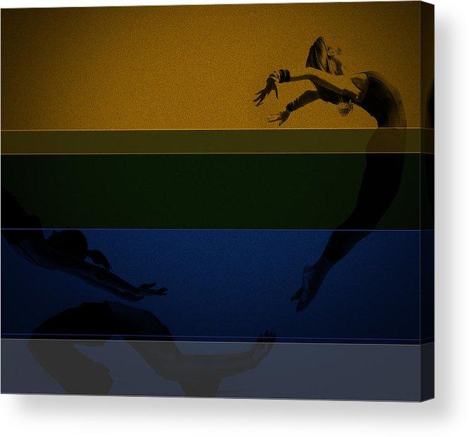 Romantic Acrylic Print featuring the photograph Chase by Naxart Studio