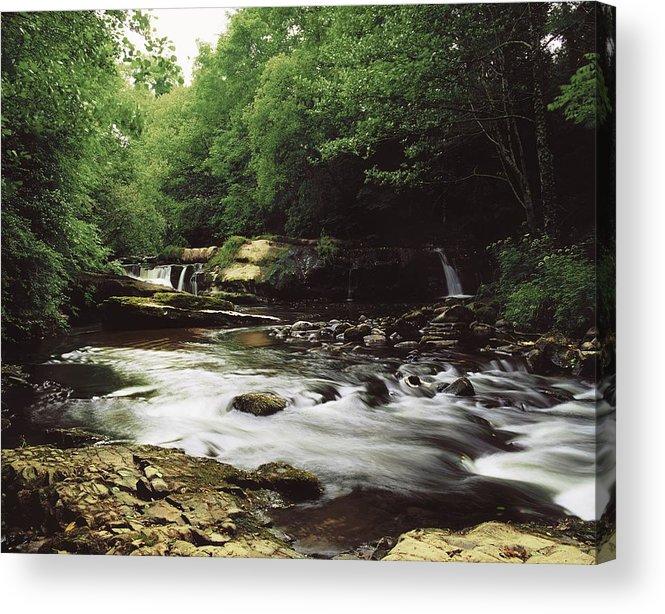Outdoors Acrylic Print featuring the photograph Clare River, Clare Glens, Co Tipperary by The Irish Image Collection