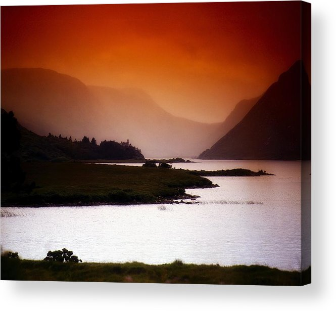 Beauty In Nature Acrylic Print featuring the photograph Derryveagh Mountains, Glenveagh by The Irish Image Collection