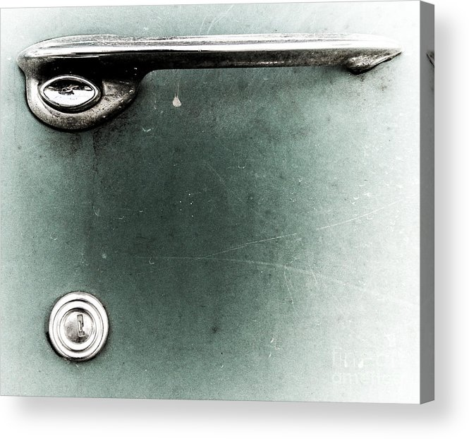 Car Acrylic Print featuring the photograph Handle by John Thomas Foye