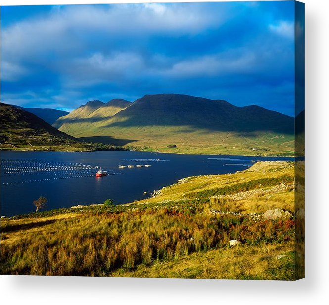 Beauty In Nature Acrylic Print featuring the photograph Killary Harbour, Co Galway, Ireland by The Irish Image Collection