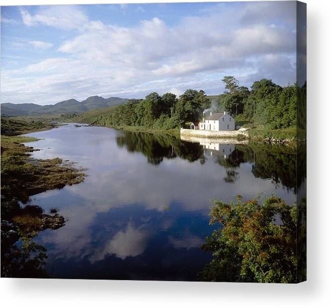 Day Acrylic Print featuring the photograph Lackagh River, Creeslough, County by The Irish Image Collection