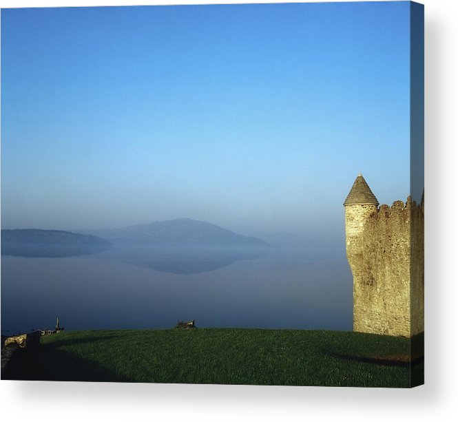 Bay Acrylic Print featuring the photograph Parkes Castle, Lough Gill, County by The Irish Image Collection