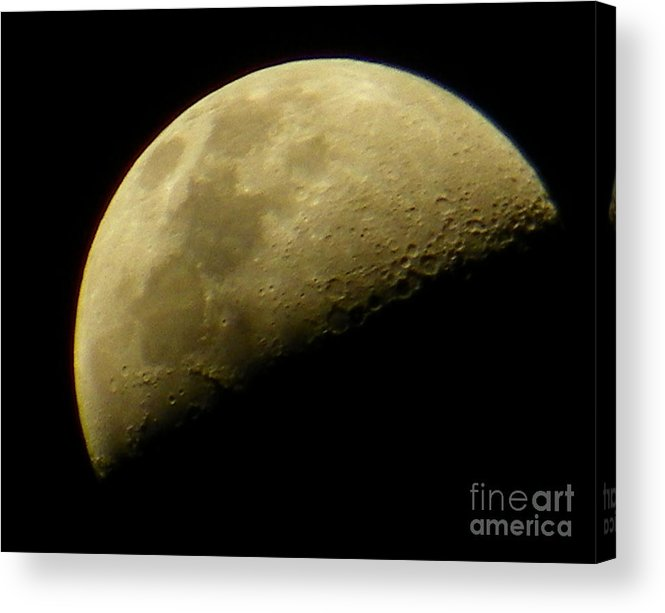 Moon Acrylic Print featuring the photograph Moon by Gerald Kloss